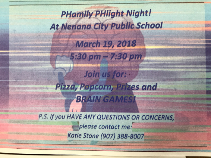 Phamily Phlight Night!